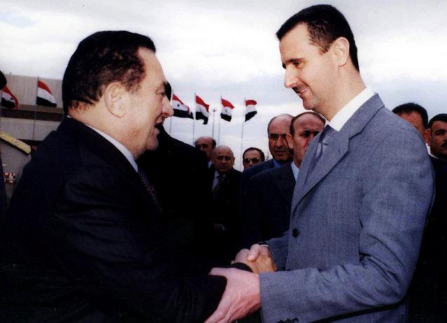 Bashar al-Assad,Hosni Mubarak