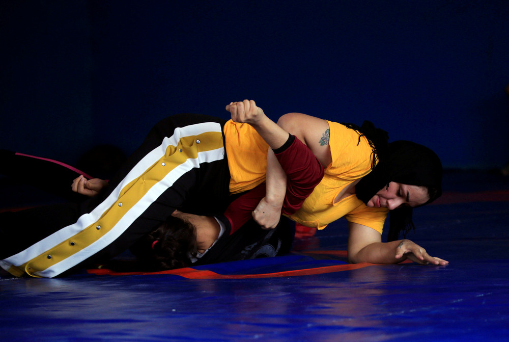 Women's Wrestling in Iraq