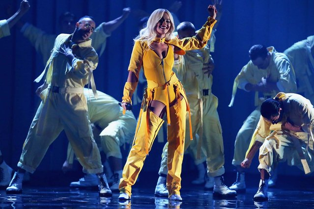 Rita Ora performs during the 32nd Annual ARIA Awards 2018 at The Star on November 28, 2018 in Sydney, Australia. (Photo by Don Arnold/WireImage)