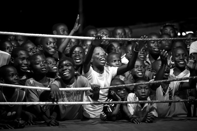 Patrick Sinkel, Germany. Professional, Sport. Boxing is the most popular sport in Bukom, a poor neighbourhood of Accra, which has produced all of Ghana's world boxing champions. (Photo by Patrick Sinkel/Sony World Photography Awards)