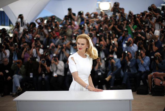 "Cast member Nicole Kidman poses during a photocall for the film ""Grace of Monaco"" (Grace de Monaco) out of competition before the opening of the 67th Cannes Film Festival in Cannes May 14, 2014. (Photo by Eric Gaillard/Reuters)"