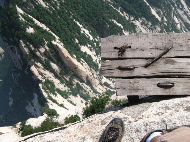 "Huashan Mountain, ""Plank Walk"", China"