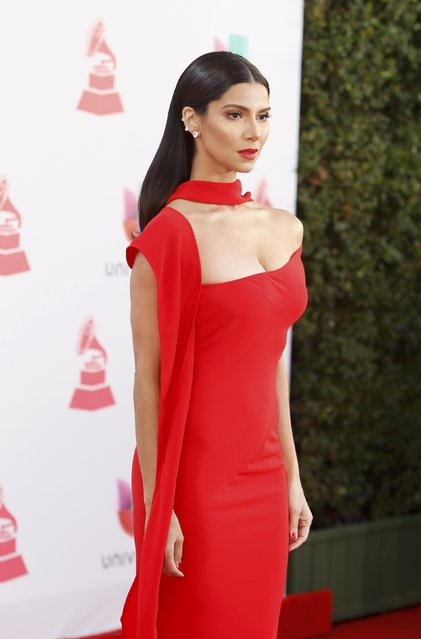 Singer Roselyn Sanchez arrives at the 17th Annual Latin Grammy Awards in Las Vegas, Nevada, U.S., November 17, 2016. (Photo by Steve Marcus/Reuters)