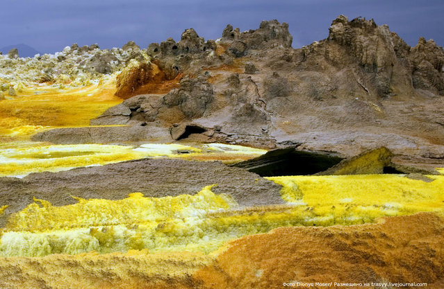 Alien Landscapes Of Dallol Volcano Dionys Moser