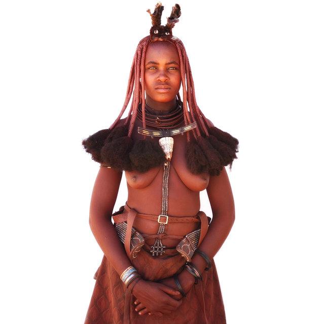 Himba Beauty Girl. Photo by Mario Gerth
