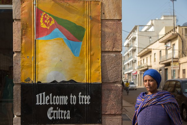"For her series ""Dolce Vita in Hell"", Swiss photojournalist Stéphanie Buret headed to Eritrea and found a country struggling to haul itself out of oppression – but with its art deco buildings still looking stunning. (Photo by Stéphanie Buret/The Guardian)"