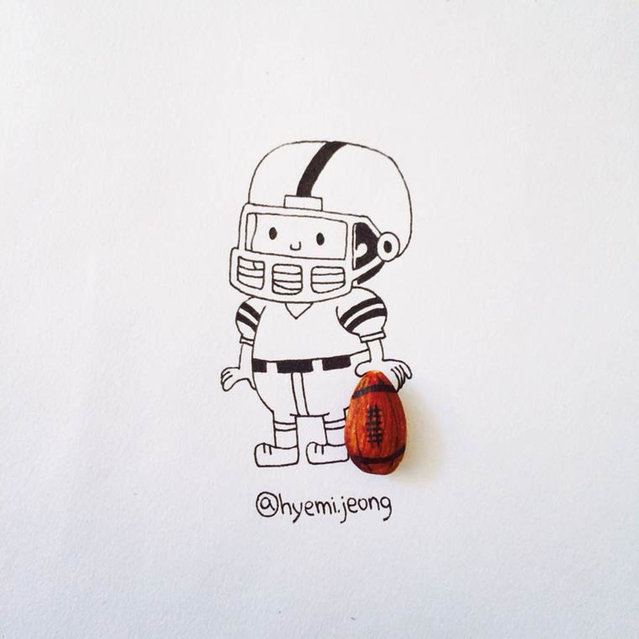 Illustrations From Everyday Objects By Hyemi Jeong Part 3