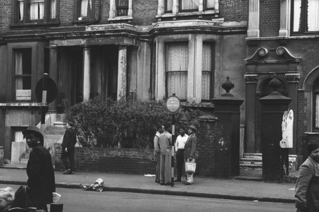 Street scene in Brixton, London, where many immigrants have settled, 6th September 1952. (Photo by Charles Hewitt/Picture Post/Getty Images)