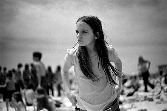 """Priscilla"", 1969. He has described this image as one of his own favourites: ""It expresses something about girlhood as well as something about a certain kind of maturity and experience"". It became the cover for Dinosaur Jr's album Green Mind. (Photo by Joseph Szabo/Courtesy of Michael Hoppen Gallery/The Guardian)"