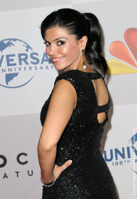 Actress Sheila Shah arrives at NBC Universal's 69th Annual Golden Globe Awards After Party