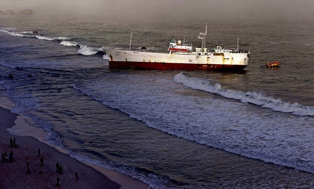 Craig Lambinon, spokesman for the National Sea Rescue Institute, said thick fog may have contributed to the accident at First Beach in Cape Town's upscale Clifton area on May 12, 2012