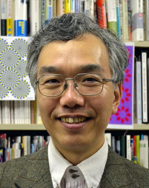 Professor Akiyoshi Kitaoka. (Photo by Akiyoshi Kitaoka/Caters News)