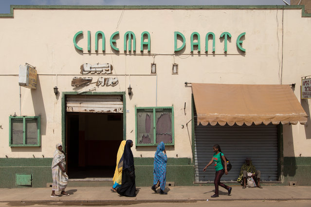 Italy conquered Eritrea in 1889 and claimed it as a colony, a rule that lasted until it was taken over by the British in 1941. Various art deco cinemas from the 1930s still remain in the capital, Asmara. (Photo by Stéphanie Buret/The Guardian)