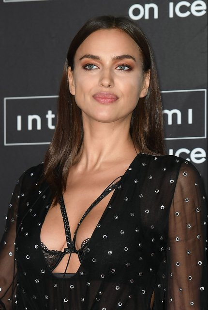 Irina Shayk attends Intimissimi On Ice at Arena on October 7, 2016 in Verona, Italy. (Photo by Venturelli/Getty Images)