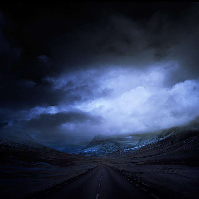 West Iceland. (Photo by Andy Lee/Caters News)