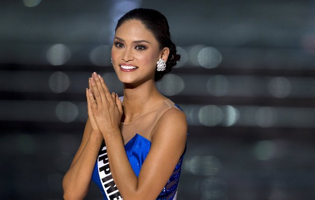 Miss Philippines Pia Alonzo Wurtzbach competes in the 2015 Miss Universe Pageant in Las Vegas, Nevada December 20, 2015. Wurtzbach was later crowned Miss Universe. (Photo by Steve Marcus/Reuters)
