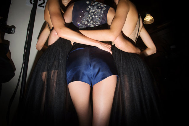 """From the series """"Fashion Lust"""". (Photo by Dina Litovsky)"""