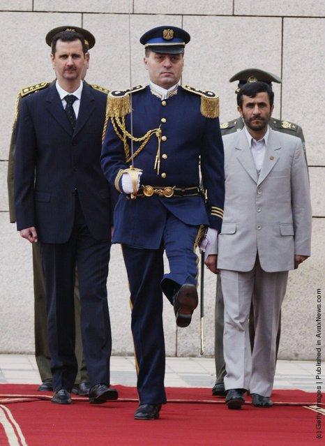Mahmoud Ahmadinejad,Bashar al-Assad