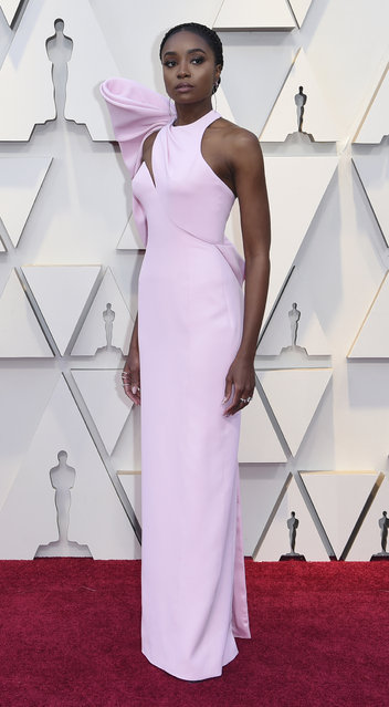 A star of If Beale Street Could Talk, Kiki Layne arrives at the 91st Annual Academy Awards at Hollywood and Highland on February 24, 2019 in Hollywood, California. (Photo by Richard Shotwell/Invision/AP Photo)