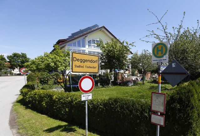 The village of Fischerdorf, near Deggendorf, is pictured May 19, 2014. REUTERS/Michaela Rehle