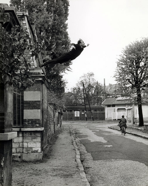 """Leap into the Void"" by Yves Klein, 1960. (Photo courtesy of The Metropolitan Museum of Art)"