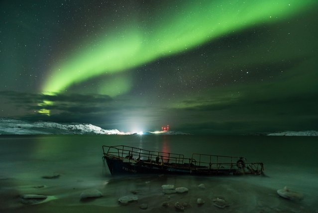 Michael Zav'yalov of Russia captured the Northern Lights from the city of Yaroslavl in Russia to the coast of the Barents Sea in the Arctic Circle. (Photo by Michael Zav'yalov/Astronomy Photographer of the Year 2018)