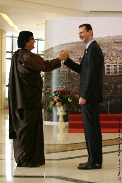 Bashar al-Assad,Muammar Gaddafi