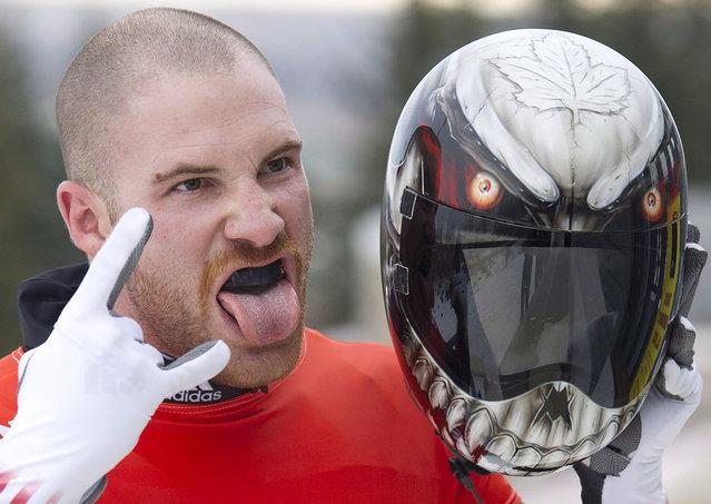 Awesome Helmet  On Sochi Olympics 2014