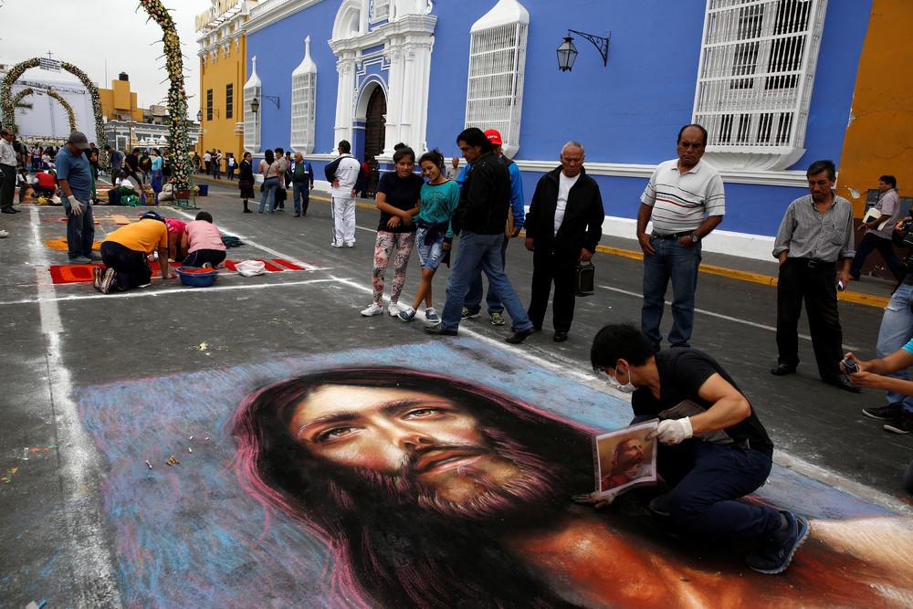Feast of Corpus Christi in Peru