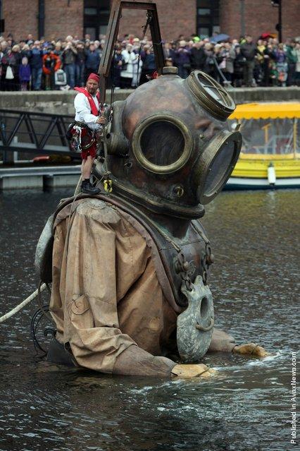 A giant deep sea diver