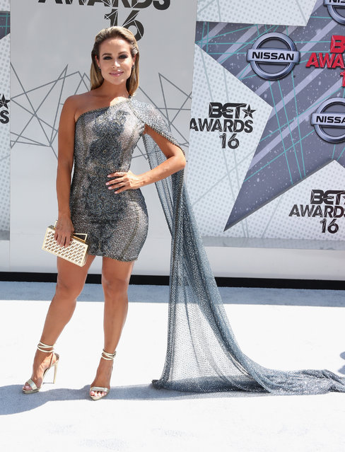 Actress Zulay Henao attends the 2016 BET Awards at the Microsoft Theater on June 26, 2016 in Los Angeles, California. (Photo by Frederick M. Brown/Getty Images)