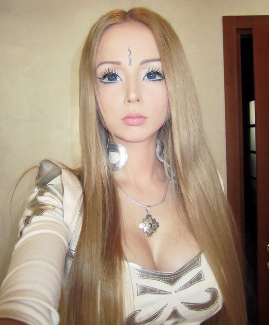 Human Barbie Doll Valeria Lukyanova aka Naamah From The Ukraine