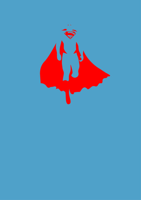 Super Hero Minimalist Posters By Michael Turner Part 1