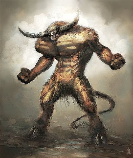 Awesome Zodiac Monsters By Damon Hellandbrand