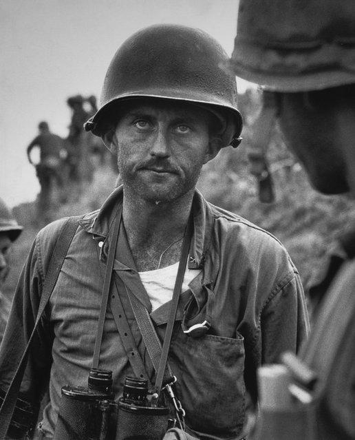 """Capt. Ike Fenton. No Name Ridge, Korea,"" by American photographer David Douglas Duncan, 1950. (Photo by David Douglas Duncan)"