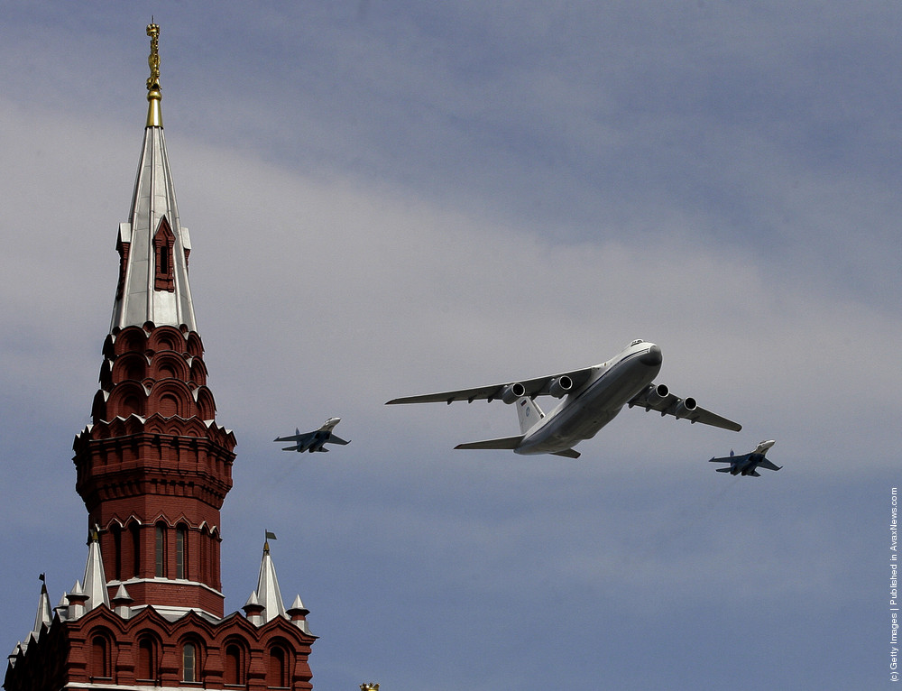 Moscow's Annual Victory Parade In Red Square 2005-2009