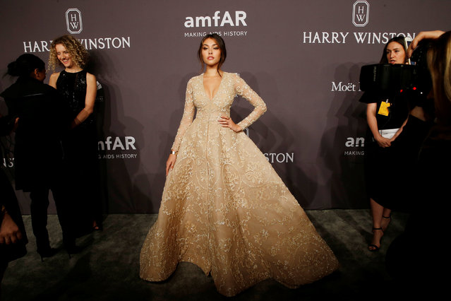 Guests arrive for amfAR's Annual Fashion Week New York Gala in New York City, U.S., February 8, 2017. (Photo by Brendan McDermid/Reuters)