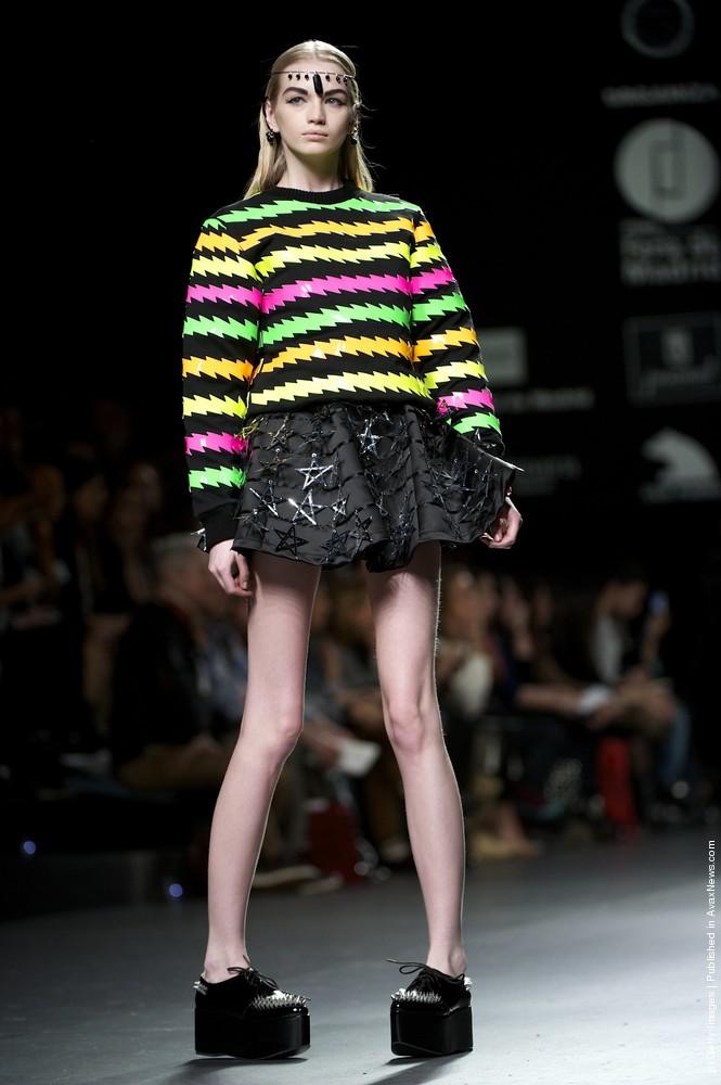 Carlos Diez And Maria Escote – Mercedes-Benz Fashion Week Madrid Autumn/Winter 2012