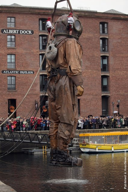 A giant deep sea diver