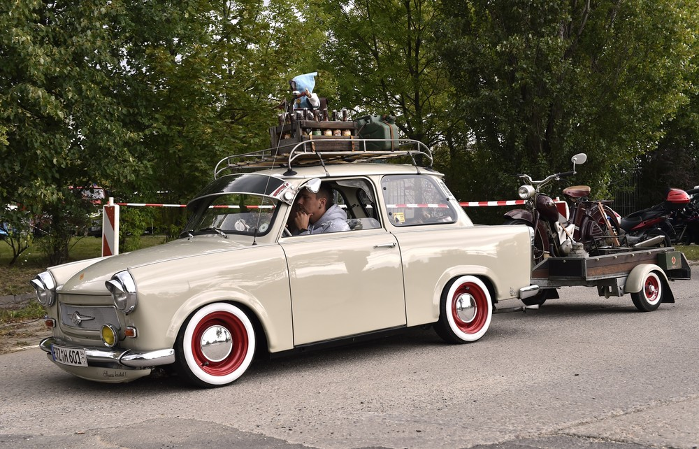 Trabant Enthusiasts Gather in Zwickau