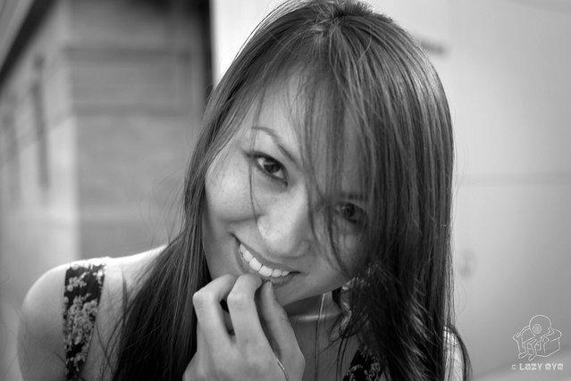 s*xy Asian Beauty. Huong heartwarming smile