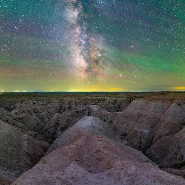 The splendour of our galaxy in Badlands National Park, in South Dakota by Jingpeng Liu. (Photo by Jingpeng Liu/Astronomy Photographer of the Year 2018/Jingpeng Photo)