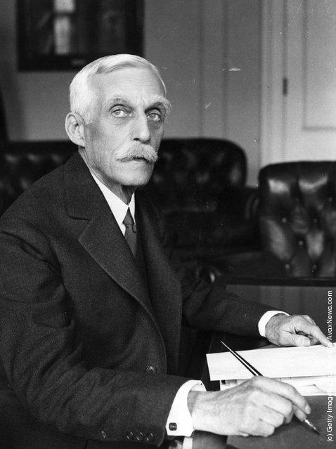 Mr Andrew William Mellon (1855 - 1937), United States ambassador to Britain 1932-33