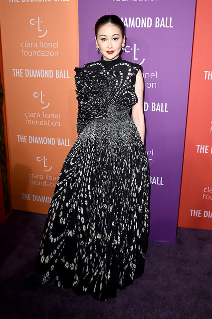 Fan Bingbing attends Rihanna's 5th Annual Diamond Ball at Cipriani Wall Street on September 12, 2019 in New York City. (Photo by Steven Ferdman/Getty Images)