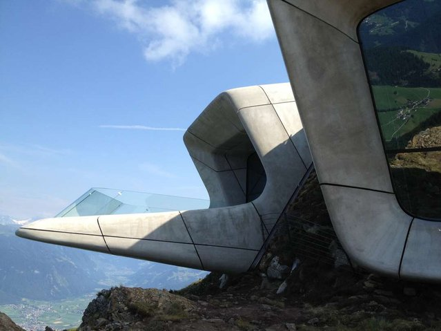 Museum In the Dolomites By Zaha Hadid