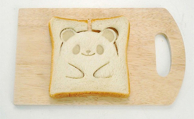 This Teddy-Bear Toast Stamp
