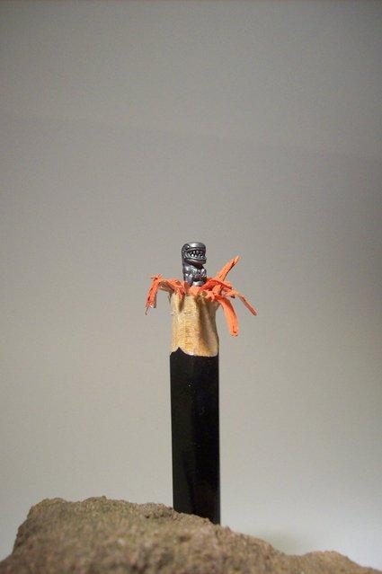 Incredibly Pencil Sculptures By Cerkahegyzo