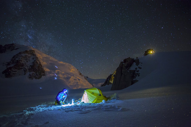 """A snapshot from mountaineer's life"". Have you ever wondered how does a mountaineer's day start? (Photo and caption by Kamil Tamiola/National Geographic Traveler Photo Contest)"