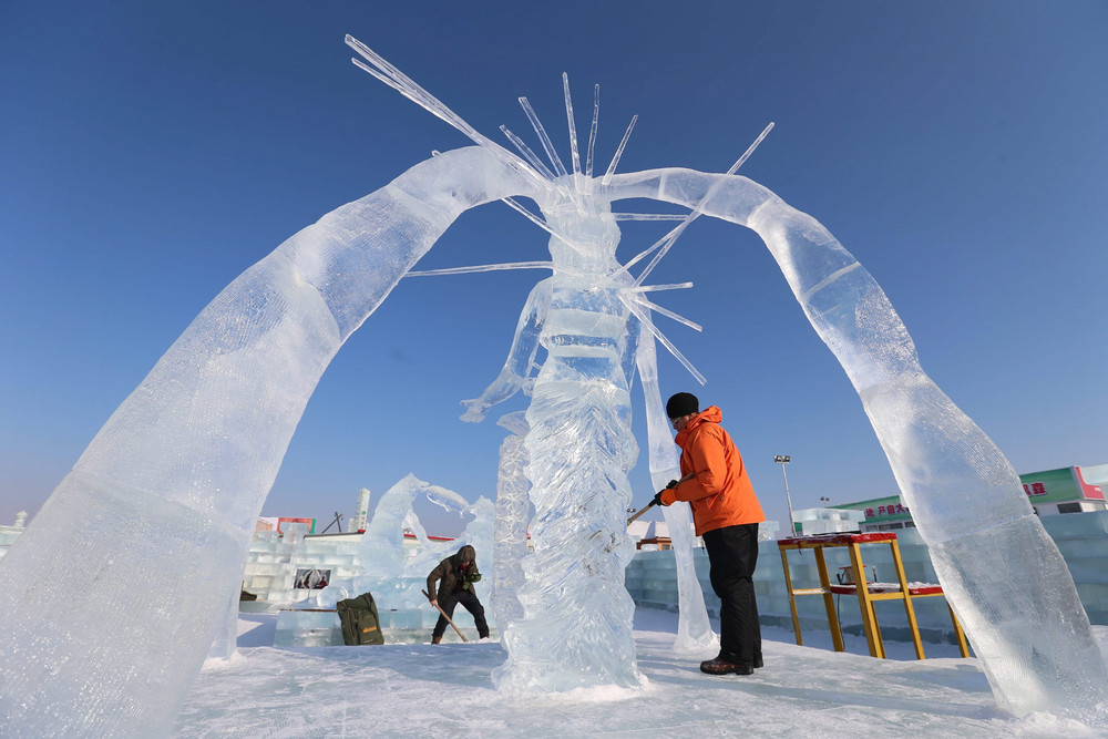Ice and Snow Festival in Harbin City