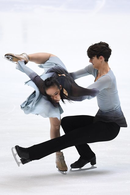 Misato Komatsubara and Timothy Koleto of the USA compete in the Ice dance free dance during the Japan Figure Skating Championships 2016 on December 23, 2016 in Kadoma, Japan. (Photo by Atsushi Tomura/Getty Images)
